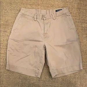 Men's Polo Flat Front Chino Short